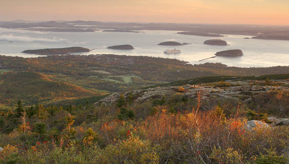 Acadia National Park, Maine.  © Christian Heeb